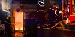 TP. HCM: Trạm phát điện cạnh Nhà hát lớn bất ngờ bốc cháy, nhiều du khách hoảng loạn bỏ chạy