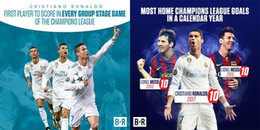 Cristiano Ronaldo tiếp tục phá vỡ những giới hạn của làng bóng đá thế giới