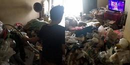 Cô gái biến căn phòng thành một bãi rác kinh hoàng sau 7 năm không một lần dọn dẹp
