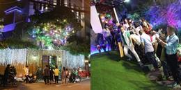 yan.vn - tin sao, ngôi sao - Người dân chen lấn để vào biệt thự 60 tỷ của Đàm Vĩnh Hưng chụp ảnh Giáng sinh