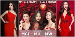Đỗ Mỹ Linh - Huyền My giúp Việt Nam lọt Top 15 'cường quốc sắc đẹp' 2017