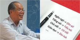 Phần 1 chưa xong, PGS.TS Bùi Hiền tiếp tục 'trình làng' phần 2 của đề xuất cải tiến 'Tiếq Việt'