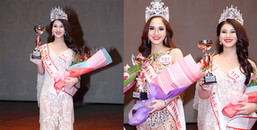 Thái Mỹ Linh đoạt Á Hậu 1 cuộc thi 'Hoa Hậu sắc đẹp Việt Toàn Cầu 2017'