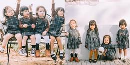 '4 nàng chuột con' xinh như thiên thần giúp các mẹ tái hiện lại hình ảnh của 'hội bạn thân năm ấy'