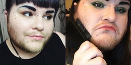 Có ai tin đây lại là một cô gái, và 14 năm nay ngày nào cô ấy cũng phải... cạo râu?