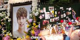 yan.vn - tin sao, ngôi sao - Fan quốc tế vừa khóc vừa hát tặng Jonghyun ca khúc REPLAY trong lễ tang