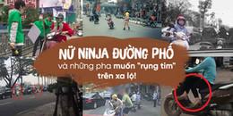Những pha muốn 'rụng tim' trên xa lộ, đích thị là do nữ Ninja đường phố 'xuất chiêu'!