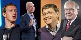 10 tỷ phú giàu nhất thế giới năm 2017, Bill Gates bị soán ngôi vào phút chót