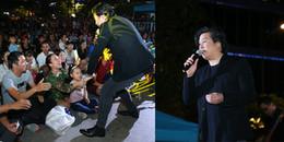 Thanh Bùi ngày càng 'phát tướng', hát cực sung trước hàng ngàn khán giả ở phố đi bộ