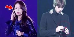 Những biểu cảm dễ thương hết nấc của các Idol Kpop khi gặp sự cố trên sân khấu