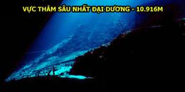 Bạn biết gì về 7 kỷ lục ở đại dương sâu thẳm này?
