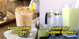 Tin vui cho team nghiện trà sữa: Chuyên gia sức khỏe tiết lộ bí kíp để uống vừa ngon, vừa bổ