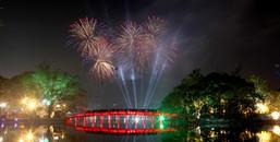 Hà Nội công bố 30 điểm bắn pháo hoa dịp tết Nguyên đán 2018