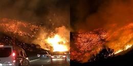 Clip: Rùng mình trước cảnh tượng cháy rừng ở Mỹ không khác gì trong phim tận thế