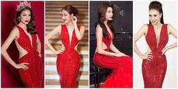 Top 7 bộ váy 'đụng hàng' nhiều nhất năm 2017 của mỹ nhân Việt