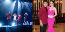 Hữu Vi bất ngờ trổ tài ca hát trên sân khấu Asian Television Awards 2017 tại Singapore