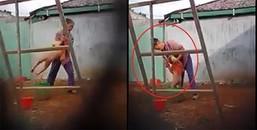 Phẫn nộ: Bảo mẫu đánh dã man vào bộ phận sinh dục của bé trai