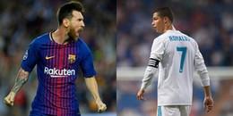 Top 10 VĐV có thu nhập cao nhất thế giới năm 2017: Ronaldo vẫn 'vô đối'