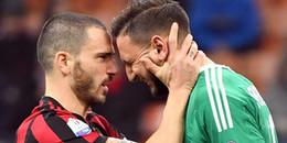 Bị CĐV Milan chỉ trích, Donnarumma chỉ biết khóc trong phòng thay đồ