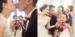 Chi Pu - Gil Lê đẹp lung linh trong ảnh cưới của Khánh Thi và chồng đại gia