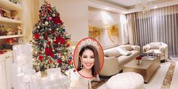 yan.vn - tin sao, ngôi sao - Hoa hậu Phạm Hương tất bật trang trí Giáng sinh cho căn hộ tiền tỉ