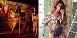 """Video triệu view hậu trường chụp bikini nóng bỏng của Minh Tú và Celine Farach """"gây bão"""""""