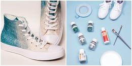 D.I.Y: Cách biến đôi giày cũ trở nên lấp lánh cực xu hướng chỉ bằng vài thao tác nhỏ