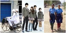 Khám phá điểm khác biệt giữa những bộ đồng phục của học sinh đến từ 15 quốc gia khác nhau