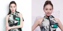 Đúng là 'oan gia ngõ hẹp', Minh Hằng diện lại váy cũ của Hồ Ngọc Hà: Ai đẹp hơn ai?
