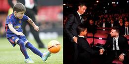 'Dở khóc dở cười' với thần tượng của các 'cậu ấm' nhà sao bóng đá