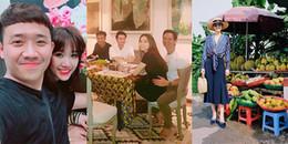 Sao Việt đi đâu, làm gì vào ngày cuối cùng của năm 2017?