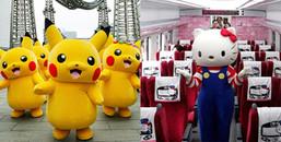 Hello Kitty và Pikachu chính thức trở thành đại sứ văn hóa ở Nhật