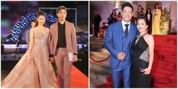 'Đọ' phong cách thảm đỏ của Trương Quỳnh Anh và bà xã Bình Minh: Ai hơn ai?