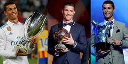Cùng nhìn lại 12 tháng ngọt ngào của Ronaldo trong năm 2017