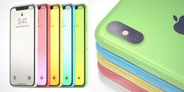 Phát cuồng với mẫu iPhone XC siêu xinh, phiên bản giá rẻ của siêu phẩm iPhone X