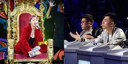 Bị chê hát dở, Miu Lê thẳng thừng đáp trả: 'Năm nay em 18 và em không thích chơi dương cầm'.