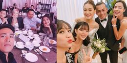 Dàn sao Việt nô nức tham dự tiệc cưới của Top 4 Vietnam's Next Top Model