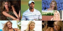 So tài 'sát gái', CR7 cũng phải chào thua Tiger Woods
