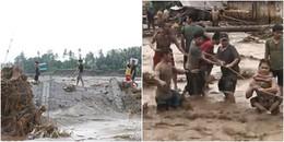Bão Tembin đổ bộ, người đàn ông xuống nước gia cố lại thuyền không may bị cá sấu cắn chết