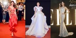 Mỹ nhân Việt nào xứng danh là 'nữ hoàng thảm đỏ' 2017 của Vbiz?