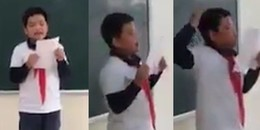 Cậu bé tả văn 'bá đạo', muốn được biến thành 'con súc vật' khiến CĐM cười chết ngất