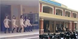 Mặc váy ngắn và nhảy như trong bar để diễn văn nghệ, 5 nữ sinh bị cộng đồng mạng 'ném đá' tơi tả