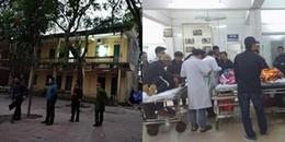 Bắc Ninh: Sập lan can trường tiểu học Văn Môn, 16 em học sinh nhập viện cấp cứu