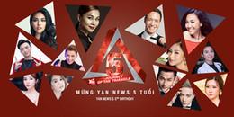 yan.vn - tin sao, ngôi sao - Dàn sao Việt nô nức chúc mừng sinh nhật tròn 5 tuổi của YAN News