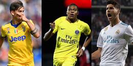 10 ngôi sao hứa hẹn phá thế thống trị QBV của Ronaldo, Messi