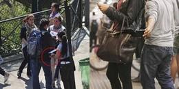 Chùm ảnh: Những pha 'hành nghề' bá đạo của kẻ móc túi