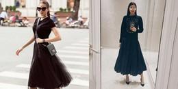Học ngay cách Phạm Hương cao tay mix chân váy xòe đơn giản mà đầy đẳng cấp