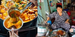 Mê mẩn những gánh hàng ăn xưa cũ, chục năm tuổi giữa trung tâm Sài Thành