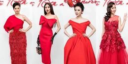 Sự kiện hiếm hoi của V-biz quy tụ dàn mỹ nhân 'khủng' và chỉ diện duy nhất sắc đỏ