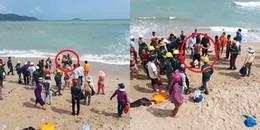 Mặc cảnh báo sóng lớn, một khách quốc tịch nước ngoài tử vong khi xuống biển tắm ở Nha Trang
